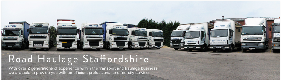 Transport and Road Haulage Staffordshire